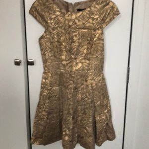 Gorgeous gold dress